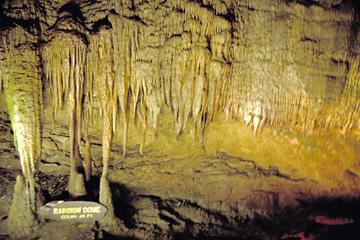 KY-Frozen Niagra Mammoth Caves 9-9-12