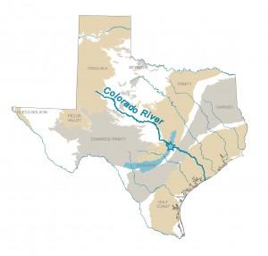 Colorado Riverhuh Streaming Around - Colorado river world map